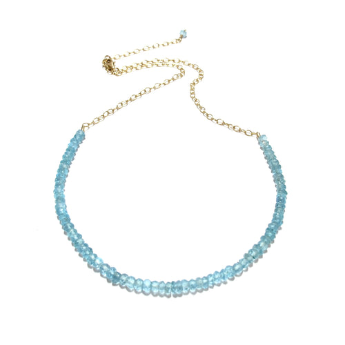 apatite gemstones necklace