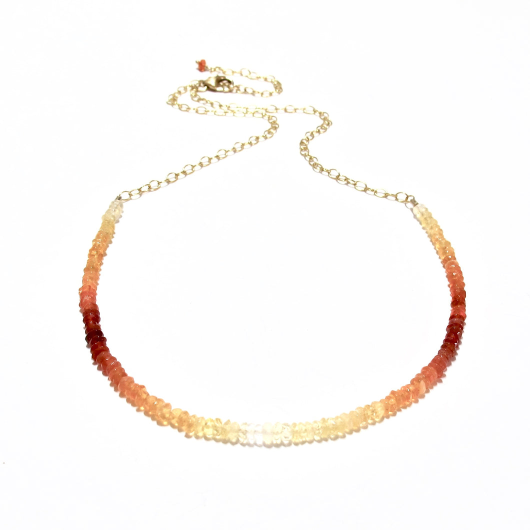 mexican fire opal gemstones necklace