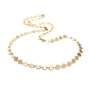 chain of discs choker