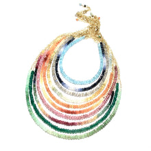 Load image into Gallery viewer, mixed rainbow gemstones necklace