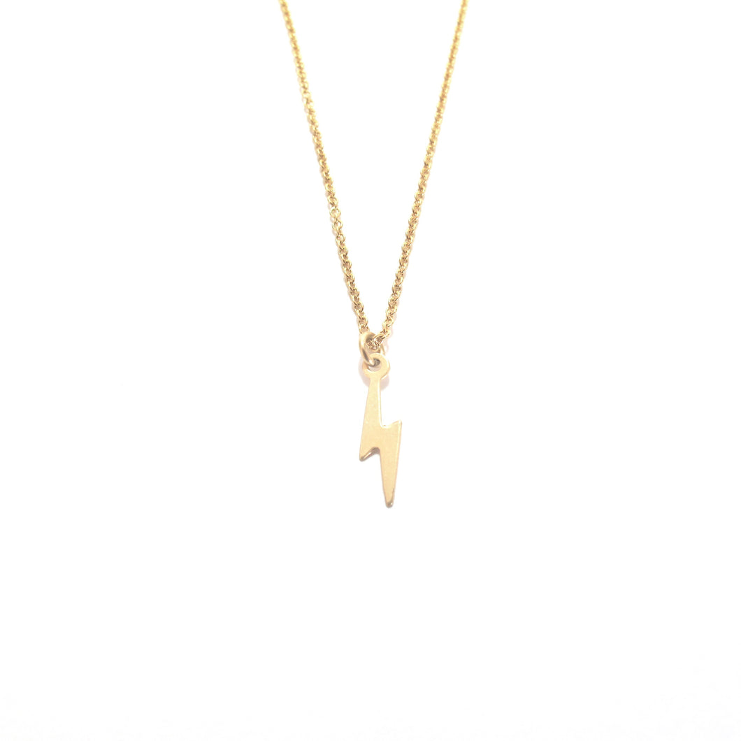 small lightning bolt necklace