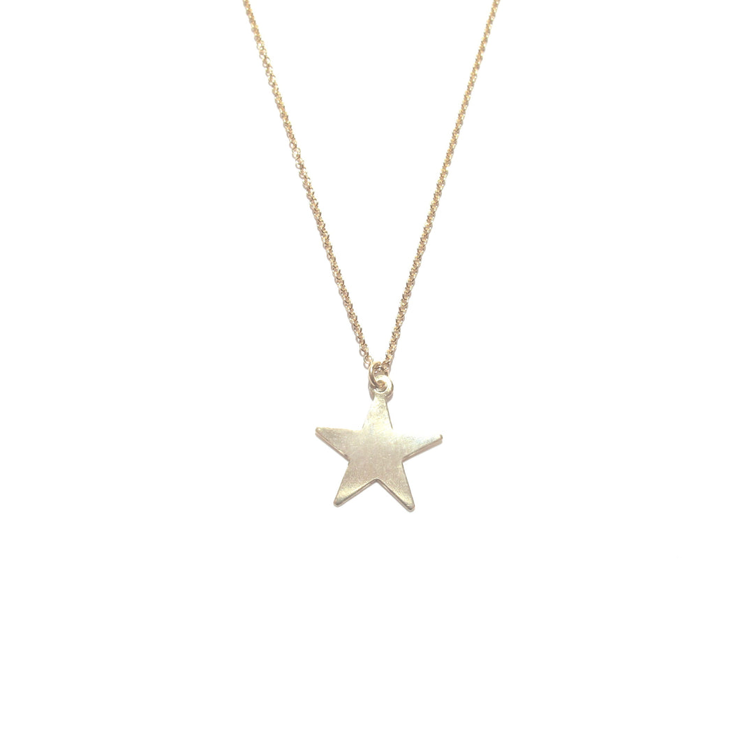 large star charm necklace