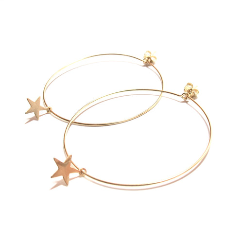 star large hoop earrings