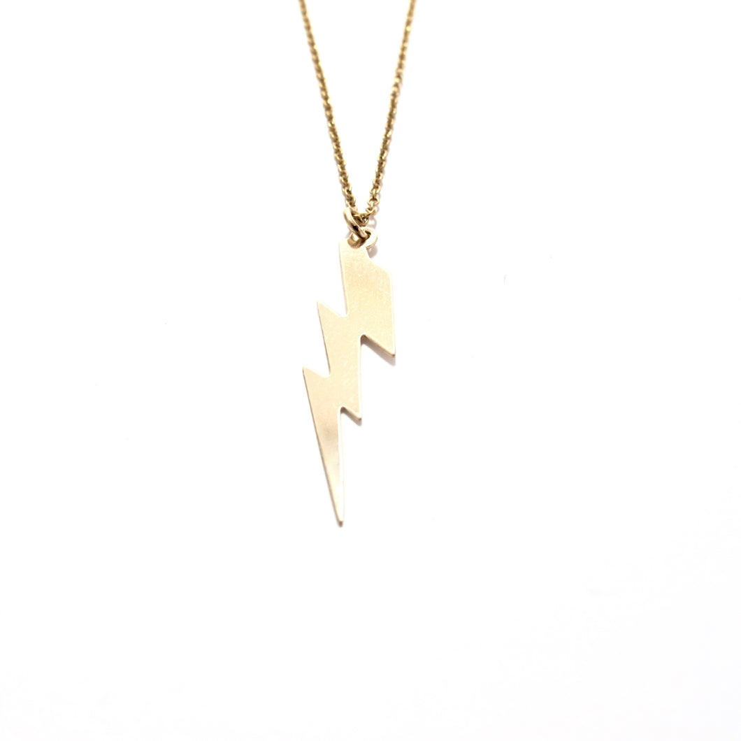 large lightning necklace
