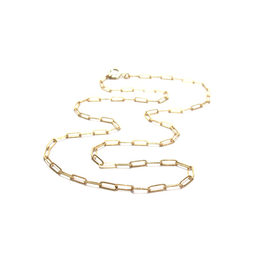 fine link chain necklace