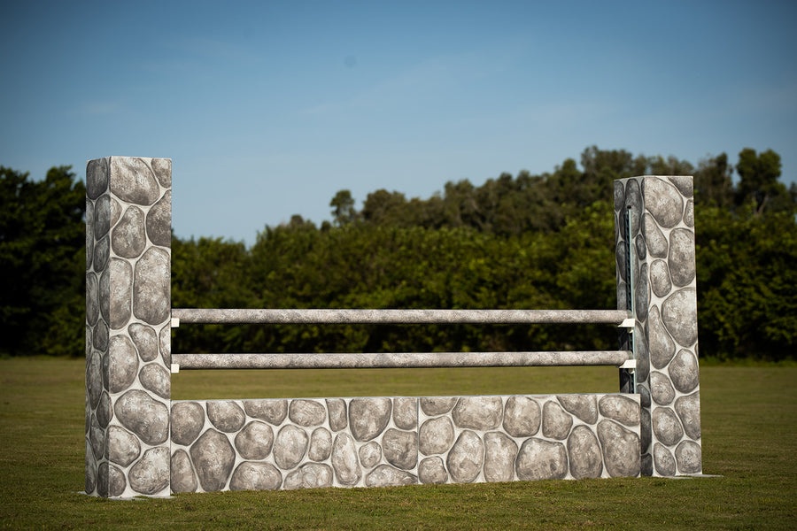 Solid stone hunter wall from Dalman Jump Co.