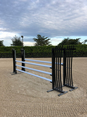 Aluminum Winged Horse Jumping Standards