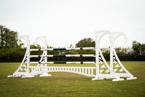Picket fence gate from Dalman Jump Co.
