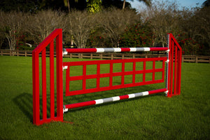 Square window gate from Dalman Jump Co.