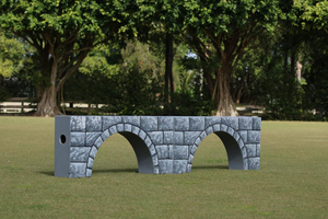 Arched Stone Hunter Wall from Dalman Jump Co.