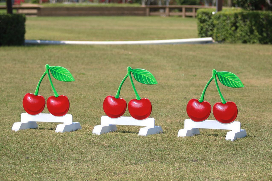 Fruit themed jump fillers from Dalman Jump Co.