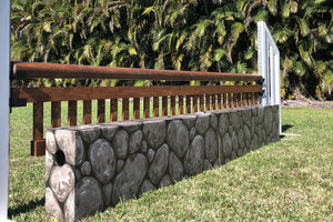 Stone Hunter Wall and Ladder Style Gate