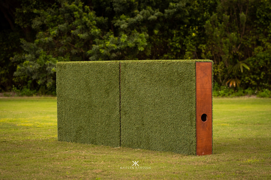 Jumper turf wall from Dalman Jump Co.