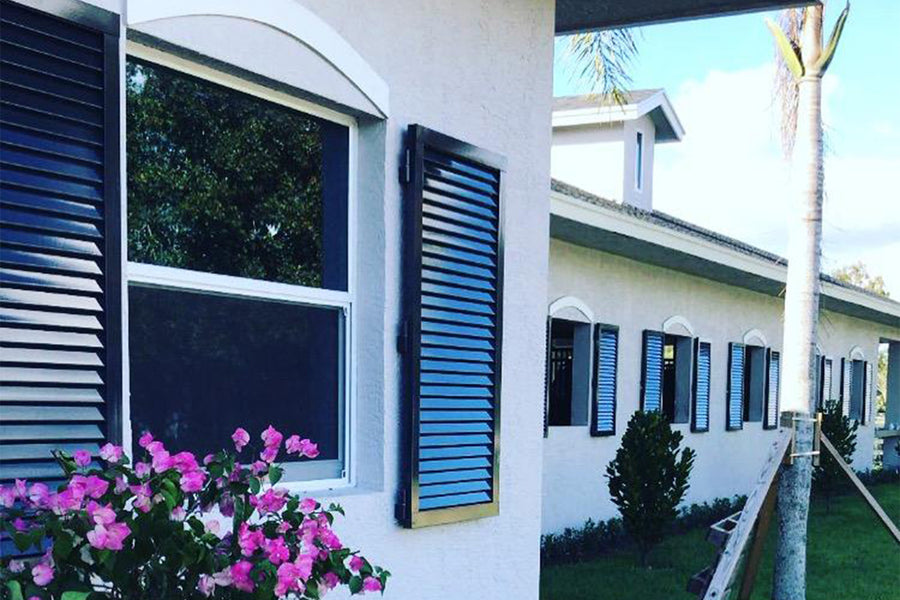 Shutters designed and installed by Dalman Jump Co.