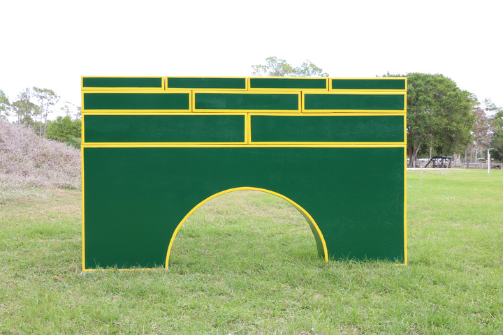 Stackable jumper wall from Dalman Jump Co.