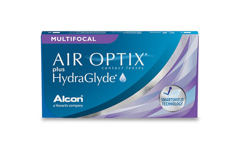 Air Optix with Hydraglyde Multifocal