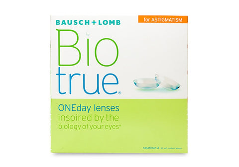 Biotrue 1 Day for Astigmatism 90pk