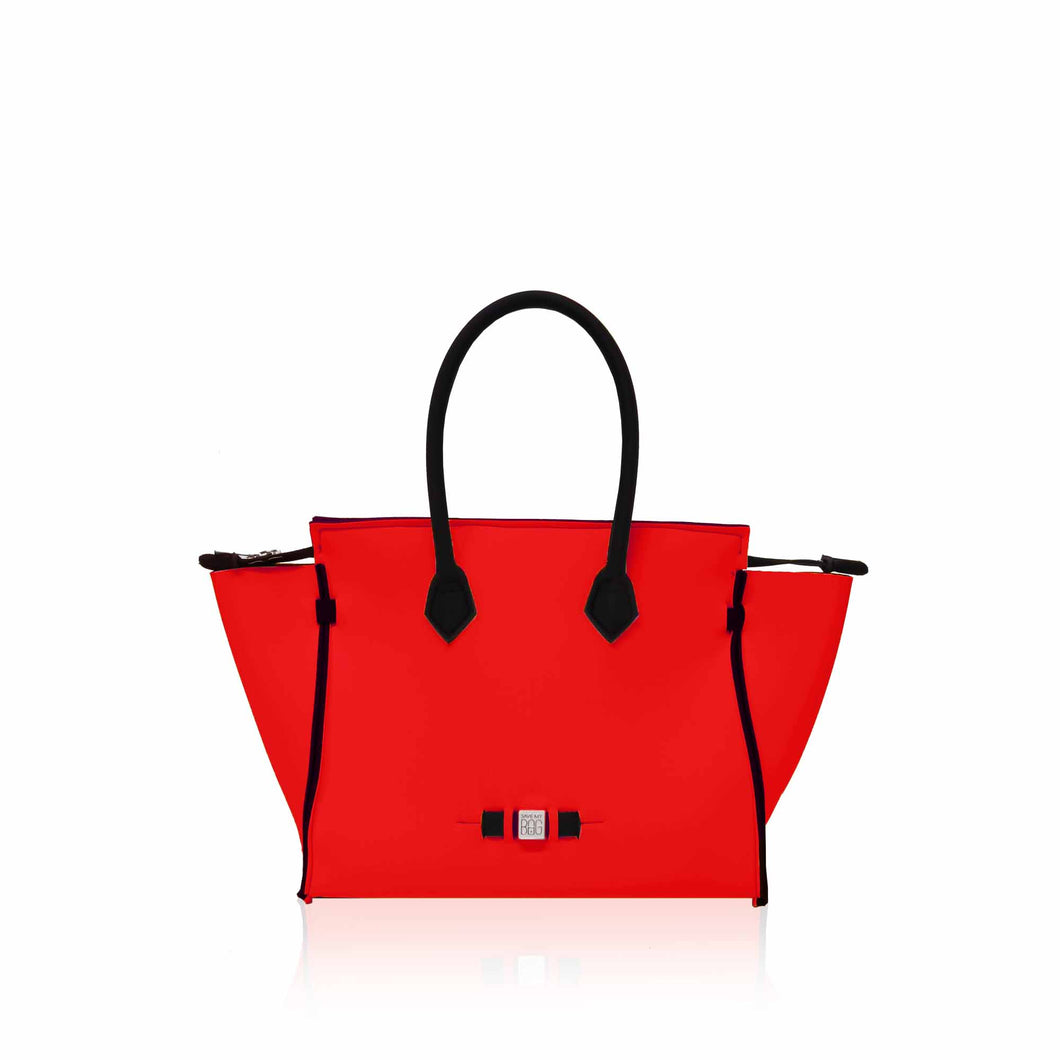 cartera Save My Bag Amanda en rojo Red Coat