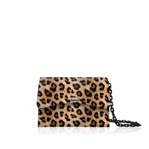 Cartera Save My Bag Bella Mini en leopardo