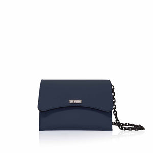 Cartera Save My Bag Bella Mini en azul balena