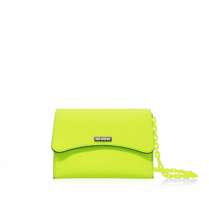 Cartera Save My Bag Bella Mini en verde Beat