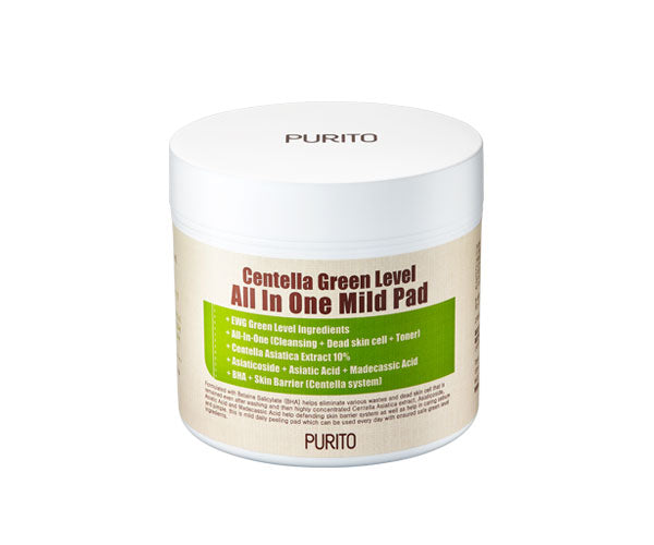 Purito Centella Green Level All In One Mild Pad 70 pad