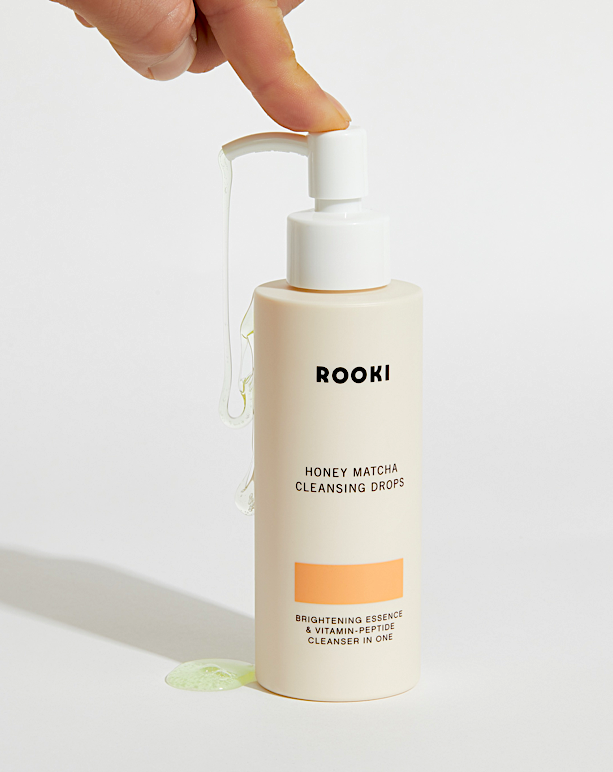 Rooki Honey Matcha Cleansing Drops 120ml