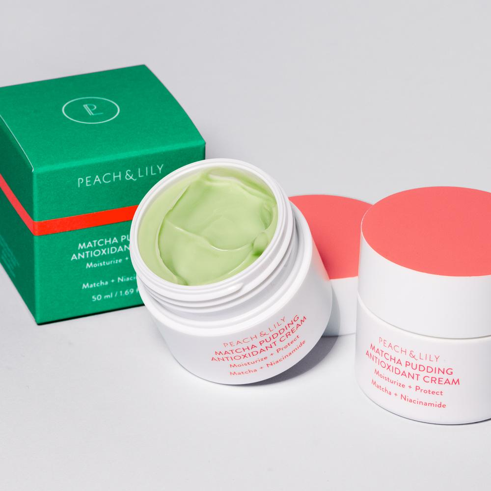 Peach & Lily Matcha Pudding Antioxidant Cream 50ml
