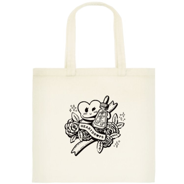 Heartdrops Tote Bag