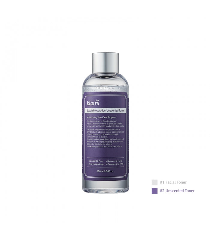 Supple Preparation Unscented Facial Toner 180ml
