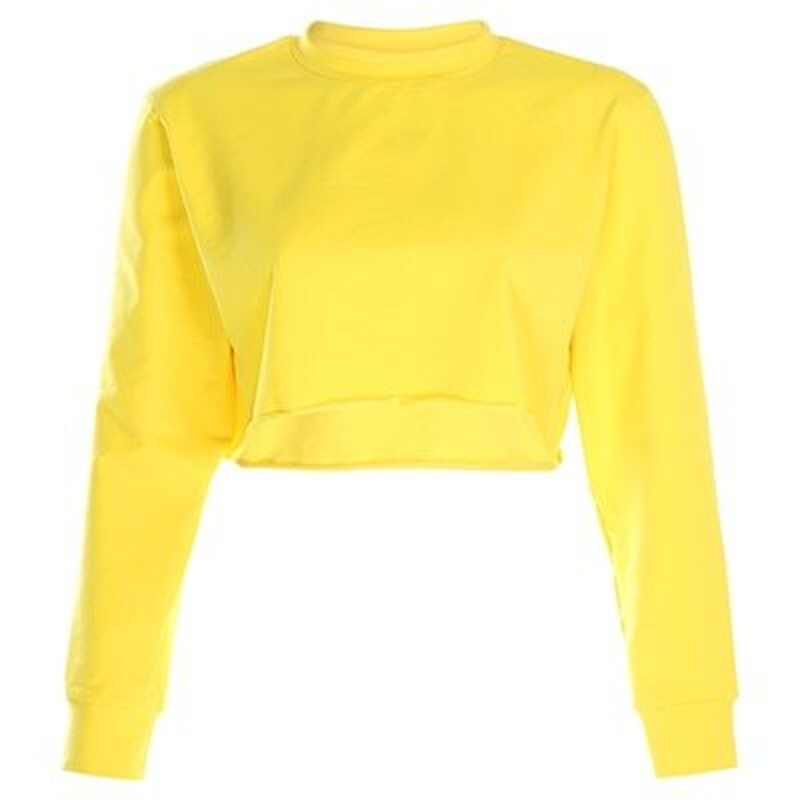 Catalina Sweatshirt Crop Top