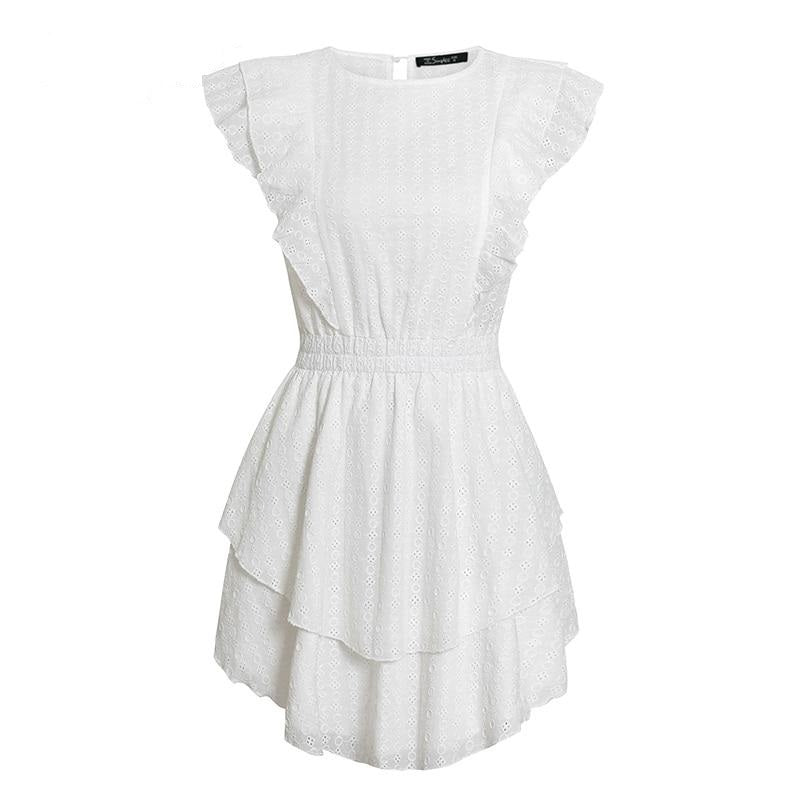 Aubree Ruffle Dress