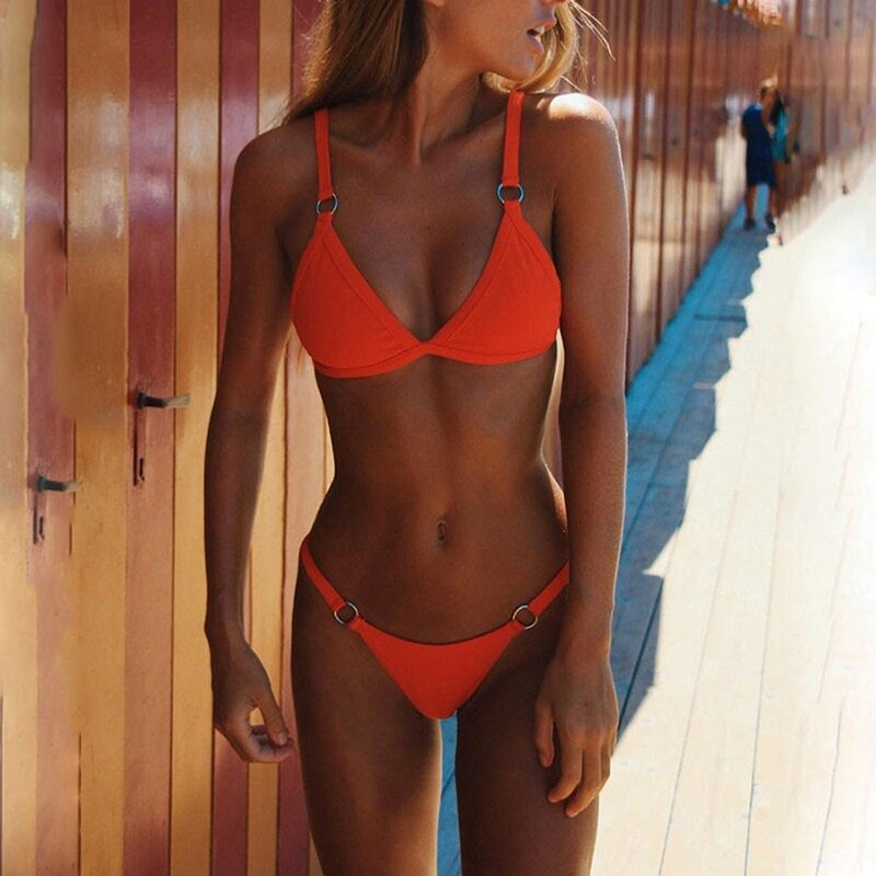 Novah Red Bikini Set
