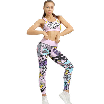 Banana Boom Yoga Sets | Pink