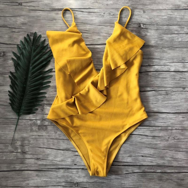 Ella Ruffles One-Piece Swimsuit