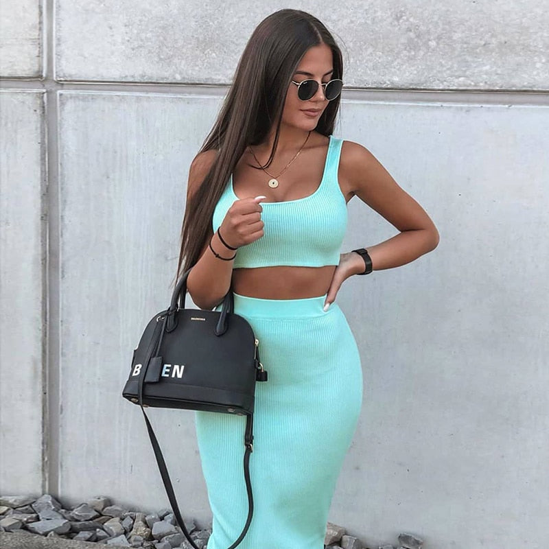 Darci Set | Mint