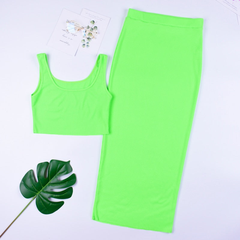 Darci Set | Green
