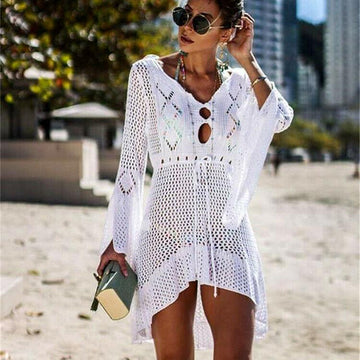 Cleo Tassel Bikini Cover Up