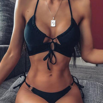 Kelly Black Bikini Set