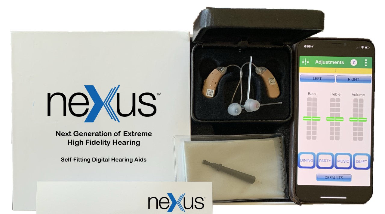 Nexus Self-Fitting Hearing Aid - Premium Digital Hearing Solution