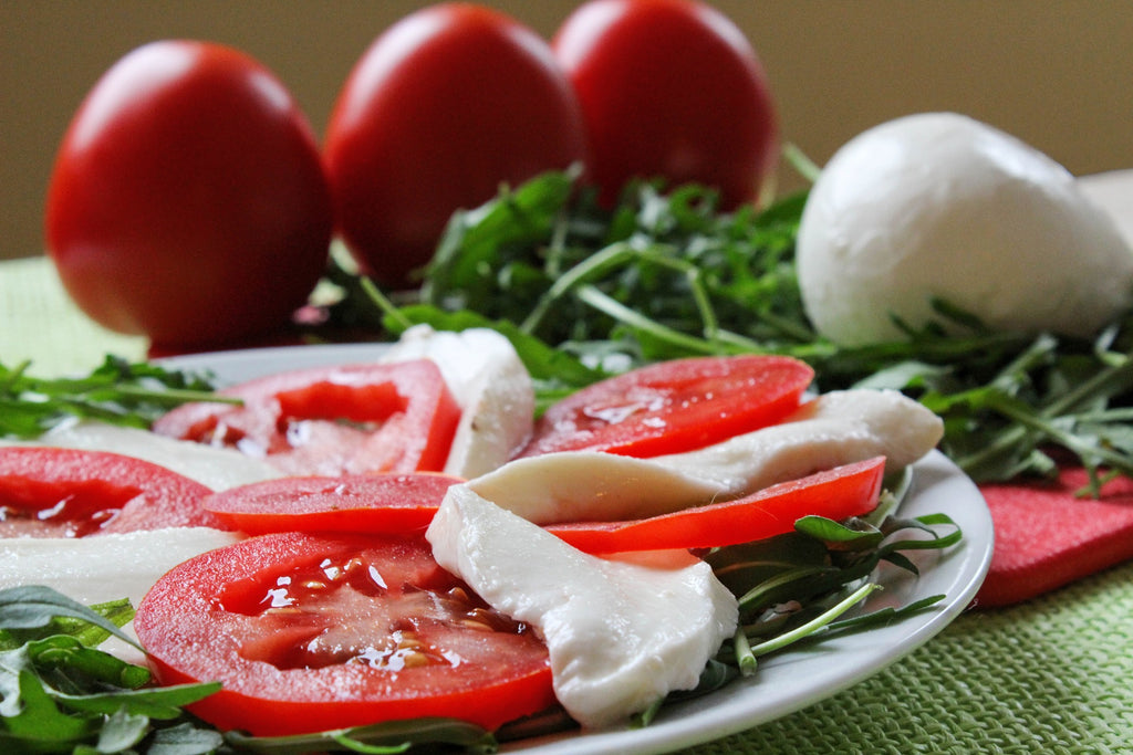 Chef Lippe and Pure Produce Caprese Salad