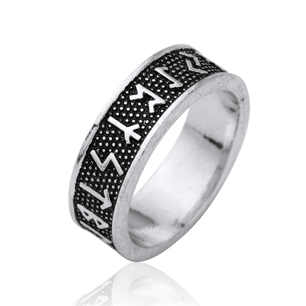 Norse Viking Antique Silver Ring