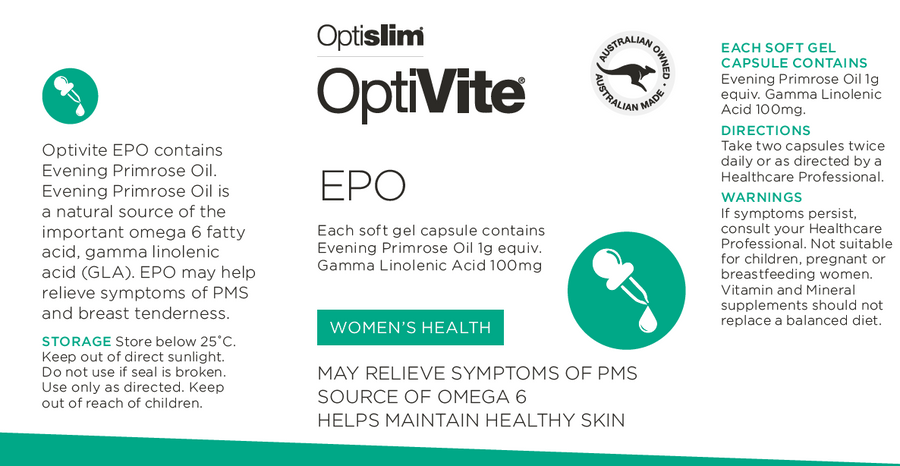 OptiVite Evening Primrose Oil