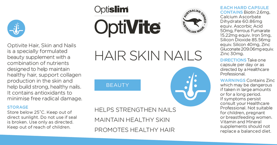 OptiVite Hair, Skin and Nails