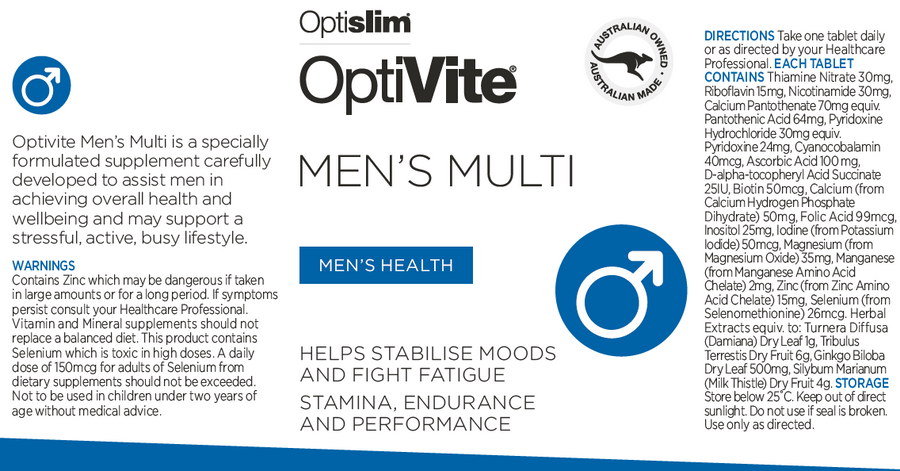OptiVite Men's Multi