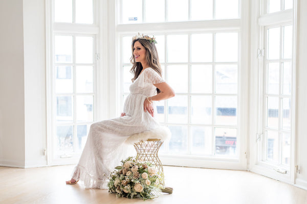 The Harper Maternity Gown