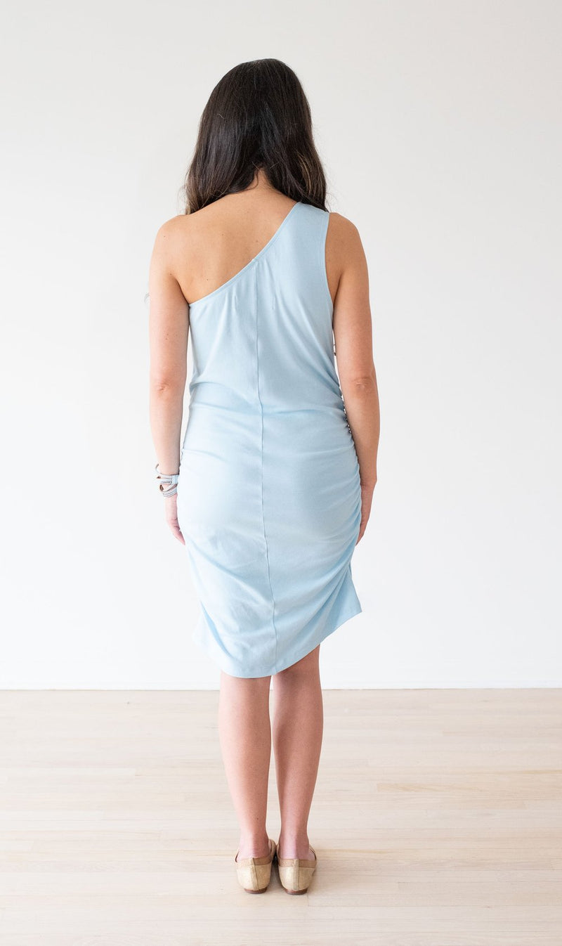 The Frankie One-Shoulder Maternity Dress
