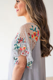 The Isabella Boho Maternity Dress