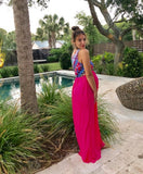 The Alessia Beach Maternity Maxi Dress