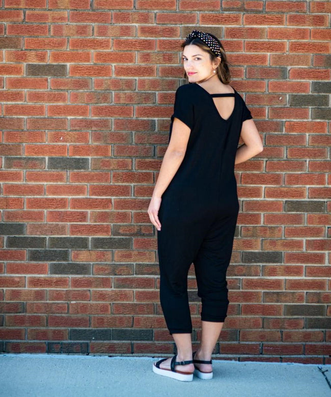 The Gia Jumpsuit (Black)